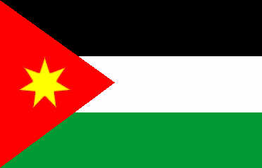 Jordan - national flag