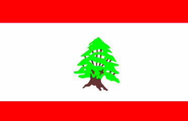 Lebanon - national flag