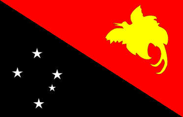 Papua New Guinea - national flag