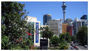 Studying at Auckland University of Technology