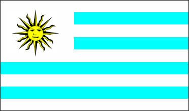 Uruguay - national flag