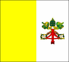 Vatican City State - National Flag