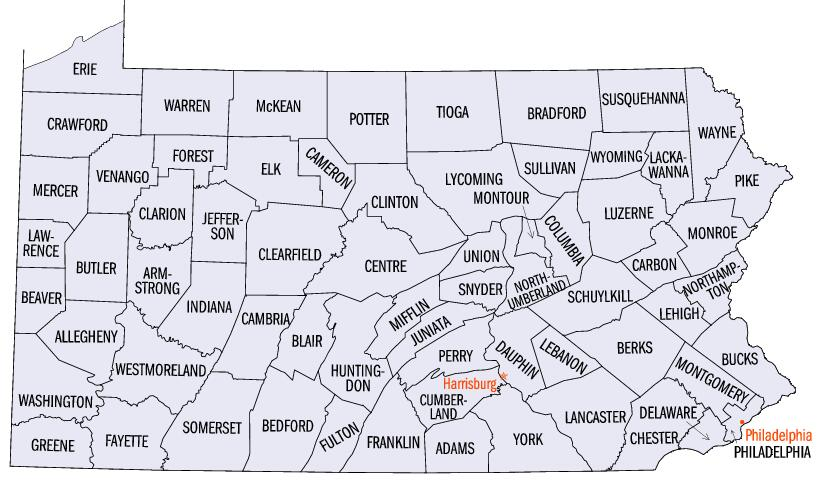 Pennsylvania Private Schools by County