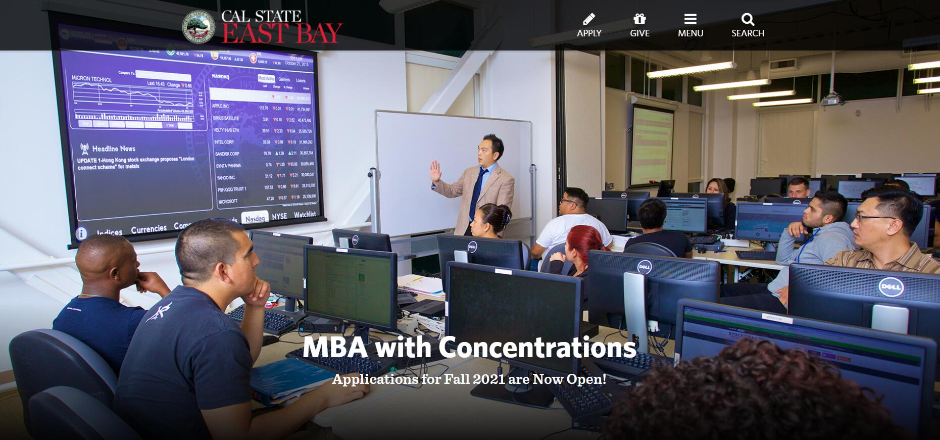 CSUEB MBA with Concentrations