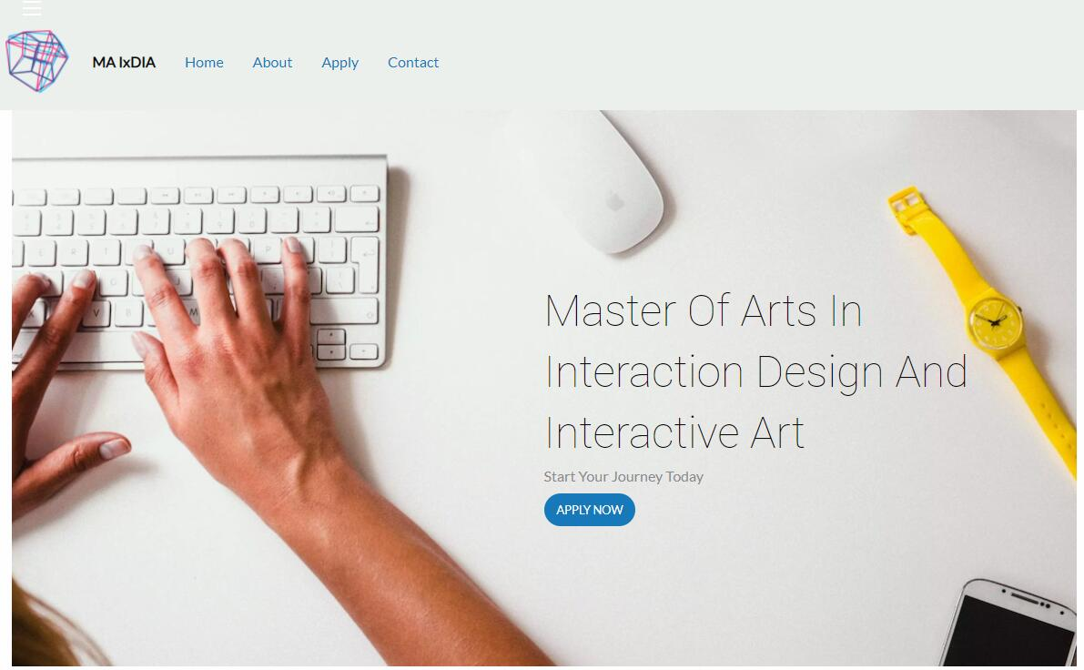 CSUEB Master of Arts in Interaction Design and Interactive Art