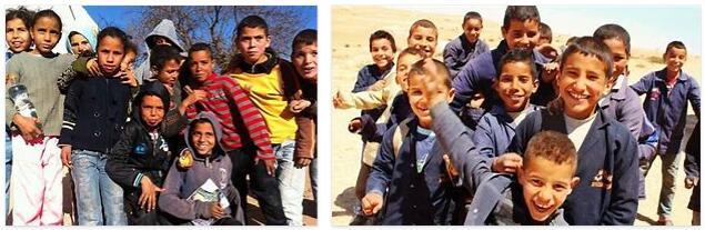 Tunisia Children